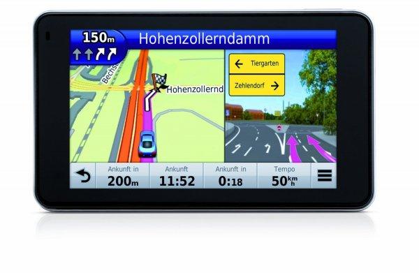 """Garmin nüvi 3490LMT für 149€ - 4,3"""" Navi mit Gesamteuropakarten, Lifetime Map Update, Bluetooth, Sprachsteuerung @ Saturn"""