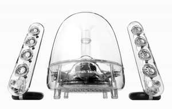 Harman/Kardon Soundsticks III - 2.1 Multimedia-Design-Lautsprechersystem für 103,99 € inkl. Vsk.