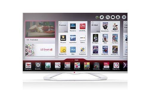 """(Lokal Saturn Bielefeld)  LG 55LA6678 139cm (55"""") 3D LED-TV weiß -Full-HD, Triple Tuner, 400 Hz, WLAN, USB Recording"""