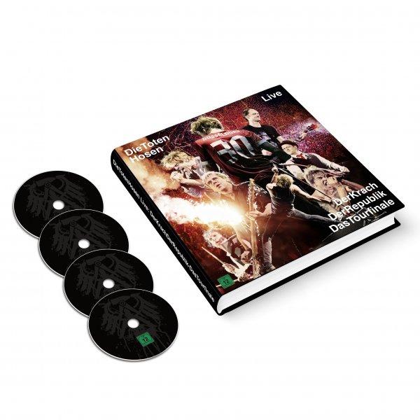[Müller] Die Toten Hosen - Der Krach Der Republik-Das Tourfinale (Earbook-Edition) (Limited Edition)