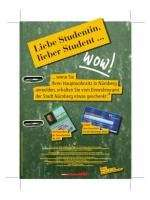 ÖPNV 4-Monats-SemesterTicket für Studenten in Nürnberg
