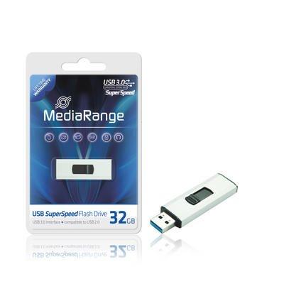 Hammerdeal!! MediaRange SuperSpeed USB Stick 3.0 - 32 GB für 9,99 EUR (+3,50 P+V -6,66 EUR Gutschein :))