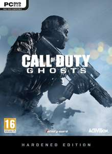 Call of Duty: Ghosts Hardened Edition (360/PC/PS3) ab 36,42€ @Amazon.co.uk