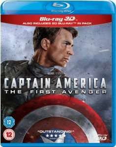 Captain America: The First Avenger 3D (inkl. 2D Version) Blu-ray für 15€ @Zavvi