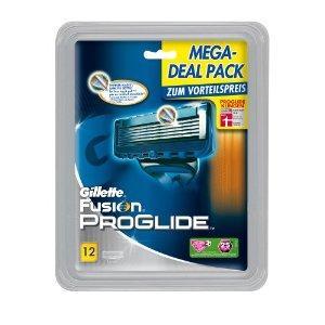 Gillette Fusion ProGlide Klingen 12-er Pack 32,39 € / 2,70 € Pro Klinge - AMAZON