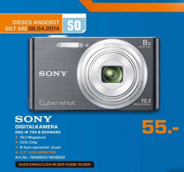 Sony Cyber-shot DSC-W730 für 55€ Lokal Sonntagsangebot [Saturn Wesel]