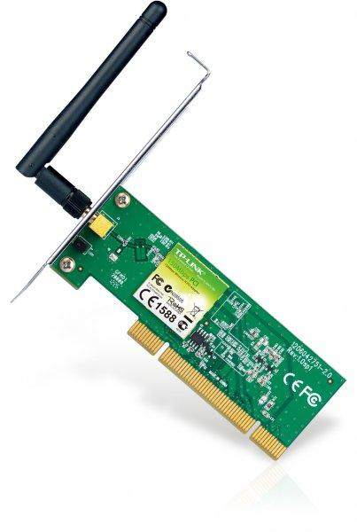 WLAN PCI-Karte TP-LINK TL-WN751ND, 150 Mbps, 802.11b, 802.11g, 802.11n für 7,53€ @ Amazon[Prime]