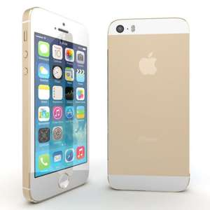 Apple iPhone 5s 16GB iPhone 5 s Smartphone 8 Megapixel Kamera Handy iOS7, Gold