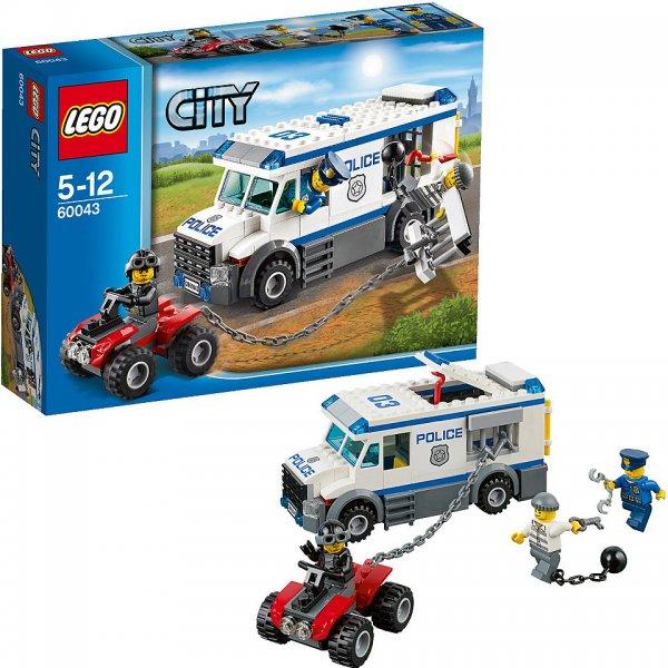 Rossmann (bundesweit): LEGO City 60043 Flucht aus dem Gefangenen-Transporter nur 13,99 Euro
