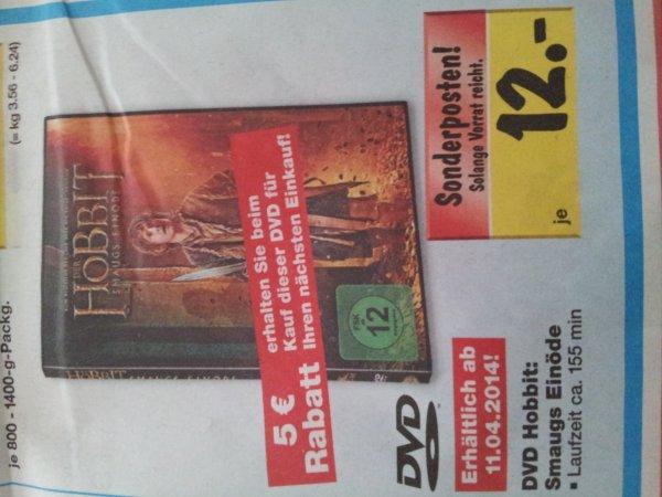 [Kaufland Berlin] Der Hobbit Smaugs Einöde - DVD für 7 euro ab 11.04.2014!