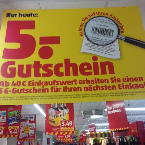 Penny Wernau 5€ Gutschein ab 40€ Einkaufswert