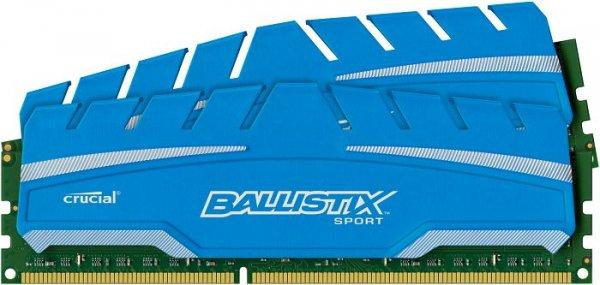 Crucial Ballistix Sport XT Kit 8GB DDR3-Kit (CL9-9-9-24) @ ZackZack - 51,90€