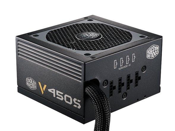 Alternate: CoolerMaster V450S, semimodulares Netzteil, 80+ Gold für 61,85 €