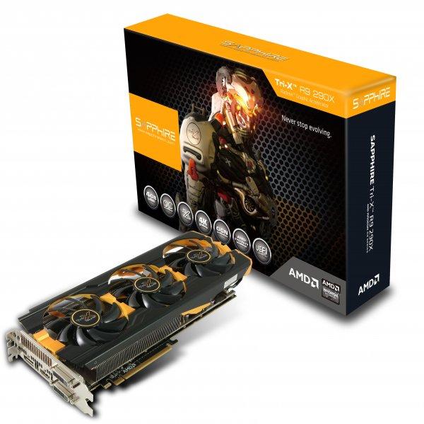 Sapphire Radeon R9 290 Tri-X, 4GB GDDR5