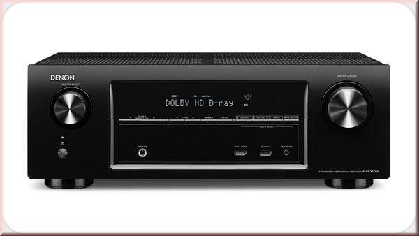 Denon AVR-X1000 259€ inkl. VSK 5.1 Multimedia Receiver mit Spotify, App, Einmesssystem, Airplay, ect.
