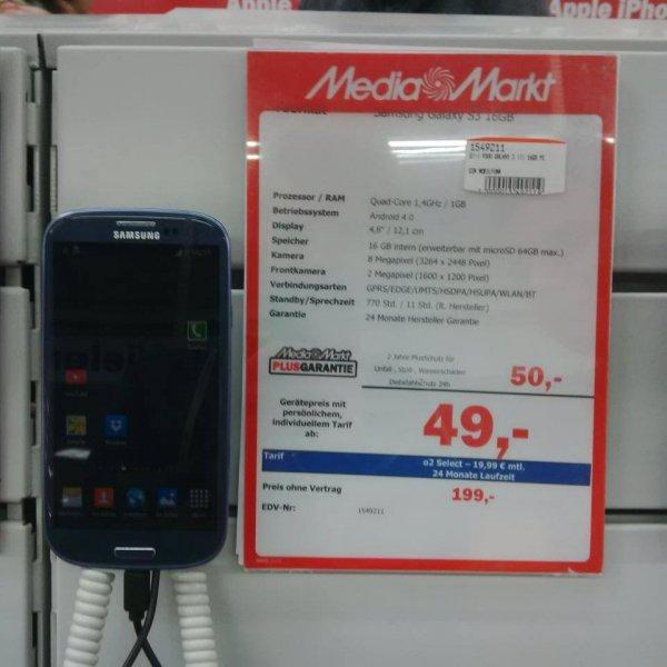 LOKAL RGBG Samsung Galxaxy S3 16GB @mediamarkt