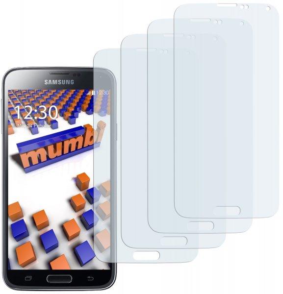 6 x Mumbi Schutzfolie Samsung Galaxy S5 für 0,49 Euro (inklusive Versand) @Amazon.de (Preisfehler??)