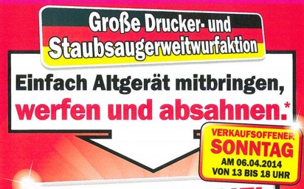 [Lokal] MM Esslingen - Neckar Center - Drucker- & Staubsaugerweitwurf - 1 € pro Meter