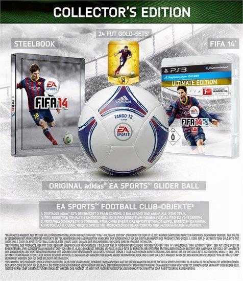 [Xbox 360, PS3] FIFA 14 Collectors Edition mit Adidas-Fußball für 40€!