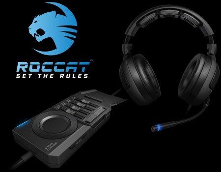 Roccat Kave Solid 5.1 Gaming Headset für 62,00 € (statt: 74,00 € ggf. plus VSK)