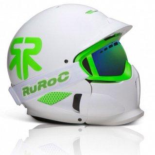 Ruroc RG1-X Viper Arctic Whites/Viper Green