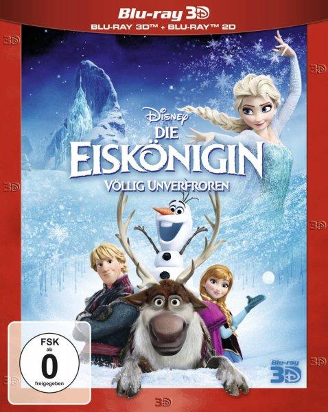[MÜLLER Online] Die Eiskönigin (inkl. 2D-Blu-ray) [3D Blu-ray] - 19,79€