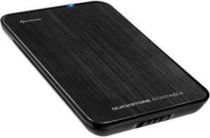 """Externe Festplatte 2,5"""" 500 GB USB3.0 Sharkoon QuickStore Portable @ZackZack für 39,90€ (VK-frei)"""