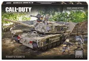 [Toys'R'Us] Mega Bloks 06822U - Call Of Duty Heavy Armor Outpost  für 59,98€