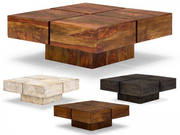 MASSIVUM - Couchtisch 75x75 Massivholz 99€