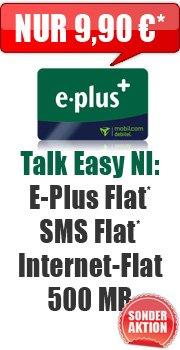 Sonder-Aktion [E+ Talk Easy NI] 9,90€