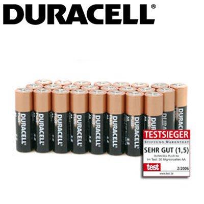 DURACELL PLUS Mignon Alkaline LR06/AA - 24 Stück // 1,99€ + 3,50€ VS + MBW 20€