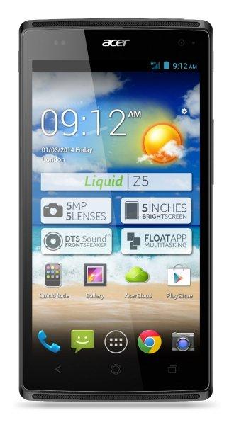 [Amazon.de] Acer Liquid Z5 Smartphone silber im Blitzangebot für nur 139€