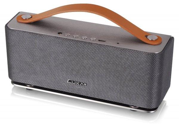 Thermaltake Luxa² Groovy Bluetooth Speaker mit Aluminium-Gehäuse und Kevlarmembranen