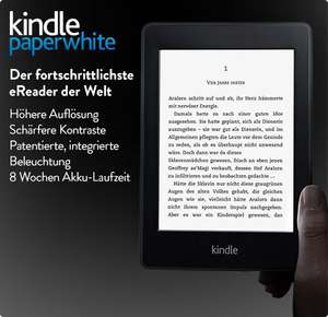 Kindle Paperwhite für 99,00 Euro direkt bei Amazon