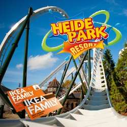 2  für 1: Zu zweit in den Heidepark Soltau für 42€ bei Vorlage einer IKEA Family Karte