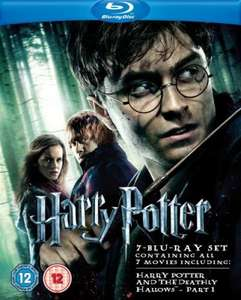 Harry Potter Collection 1 - 7.1 [7 x Blu-Ray] für ~33€ @ zavvi