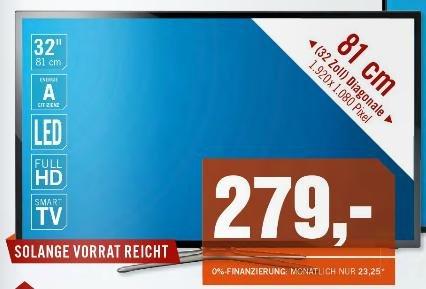 Samsung UE32F5570 32 Zoll, Full HD, Triple Tuner (DVB-T/C/S2) - Cyberport