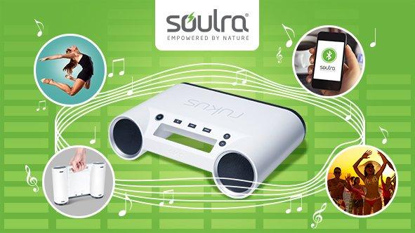 Tagesdeal bei *Vente-Privee.com* SOULRA RUKUS tragbares Bluetooth-Soundsystem 65€ ink. VSK - Amazon ca.135€