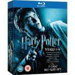 Harry Potter 1-6  Blu-Ray Box  bei Amazon.co.uk für 23€