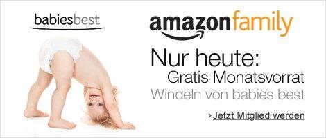 ca. 200 Windeln für kostenlose Amazon Family Mitgliedschaft