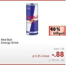 [Kaufland Augsburg & Pforzheim] Red Bull Energy 0,88€ pro Dose ;Deutschlandweit 0,99€ pro Dose