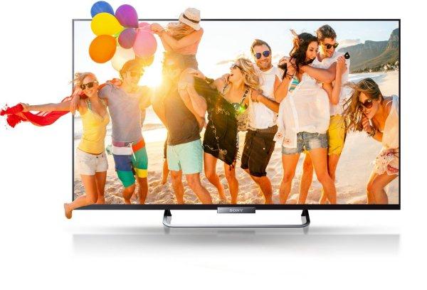 Sony BRAVIA KDL-50W685 126 cm (50 Zoll) 3D LED-Backlight-Fernseher für €694