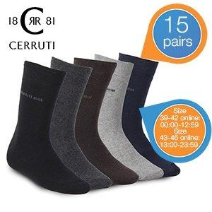 15'er - Pack Cerruti 1881 Business Socken