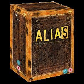 Alias - die Agentin 1-5 Complete Set [30 DVDs] für ca. 32€ @ zavvi