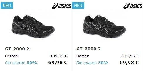 Asics GT 2000 2 Jetzt statt 139,95€ nur 69,98€ bei 21run.com