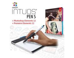 Wacom Intuos Pen S inkl. Photoshop/Premiere Elements 12 für 74,35€ @Meinpaket