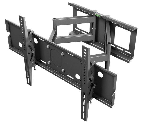 """Ricoo ® TV Wandhalterung Schwenkbar R06 Doppelarm Plasma LCD LED Wandhalter für Fernseher mit 80 - 177cm (32 - 70"""") VESA max. 680x400 universell passend fuer alle TV-Hersteller @amazon"""
