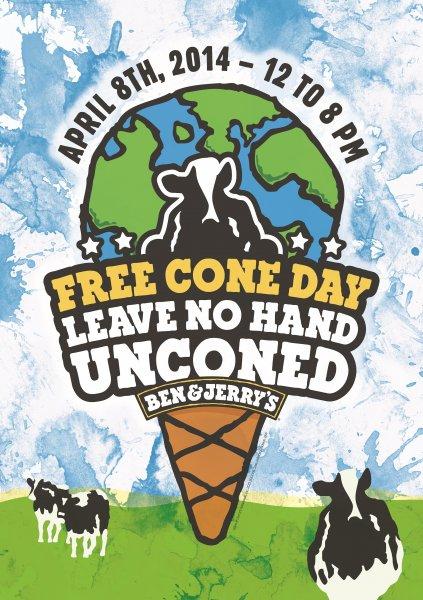 [Lokal Berlin, Lausitzer Platz] Kostenloses Eis am Free Cone Day von Ben & Jerry's