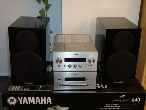 Yamaha Pianocraft MCR-640 Micro-Anlage Stereo Anlage LOKAL Saturn Bremen