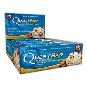 Quest Bar-Proteinriegel | 16 Stk. für 30,90€ inkl. VSK (bzw. 24 Stk. für 45,80€) | Stückpreis: 1,93€ bzw. 1,91€